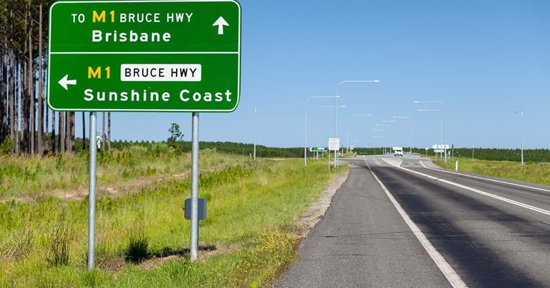 Bruce Highway, Queensland Australia